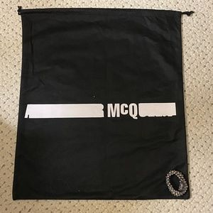 ALEXANDER MCQUEEN XL Large Dust Bag Duffel Tote 25
